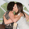 YWCA Orange County Executive Director Christine Sadowski embraces Dinner Chair Amy Trapni-Frisbie during the 24th Annual Tribute to Women of Achievement of Orange County held at West Hills Country Club in Middletown, NY on Wednesday, May 11, 2016. Hudson Press/CHUCK STEWART, JR.