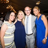 Inaudy Esposito, Kellyann Kostyal-Larrier, Todd Van Minter, and Sarita Green at the 24th Annual Tribute to Women of Achievement of Orange County held at West Hills Country Club in Middletown, NY on Wednesday, May 11, 2016. Hudson Press/CHUCK STEWART, JR.