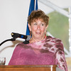 Florence Bluegrass-Hannes welcomes everyone to the 24th Annual Tribute to Women of Achievement of Orange County held at West Hills Country Club in Middletown, NY on Wednesday, May 11, 2016. Hudson Press/CHUCK STEWART, JR.