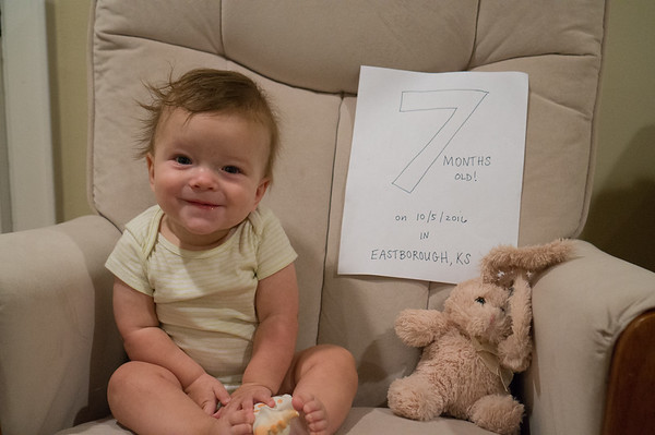 Connor is 7 months!