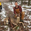 JOE'S 2ND BUCK...SHOT WITH TOM'S 44 MAGNUM RIFLE