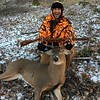 JOE MADRON TAKES HIS FIRST BUCK 'EVER'  !!! AND WITH HIS HANDMADE 50-CAL MUZZLE-LOADER  !!!