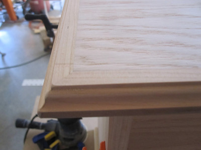 RED OAK BORDERED WITH CHERRY