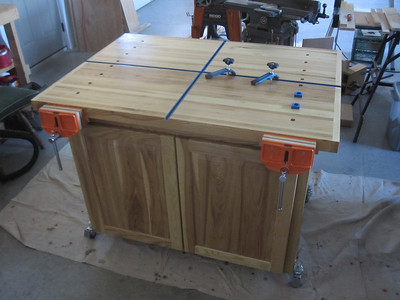 FINISHED ROLLING WORKBENCH 2013