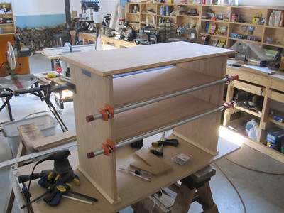 """PAUL'S """"SHOE-RACK"""" NEARING COMPLETION 12/2011"""