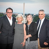 """Matt Lauer and Samantha Sault host the first annual """"Dead of Summer"""" party at the rooftop of the Hay Adams.  July 22, 2016, photo by Ben Droz."""
