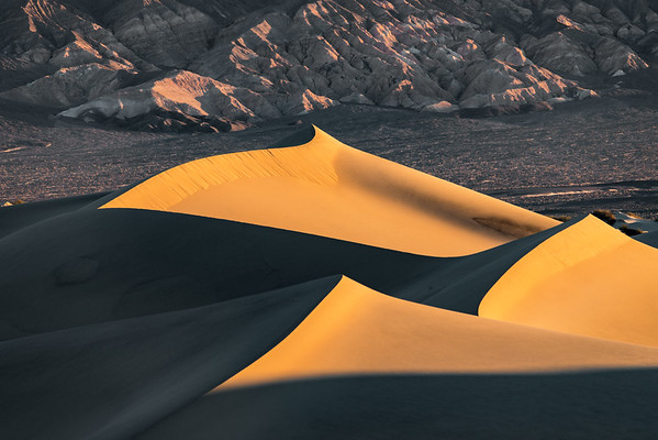 I just loved the shadows in this series of photos at the Mesquite Sand Dunes