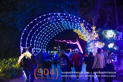Zoo Lights @ Jacksonville Zoo & Gardens - 12.21.16