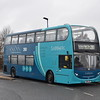 Arriva Sapphire Enviro 400 SN15LPU 5465 at Haddenham and Thame Parkway on the 280 to Oxford.