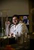 18414 Jim Hannah, Ph D student Ryan Rakoczy in his lab 12-15-16