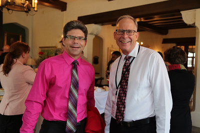 Dean Jeff Russel, (Division of Continuing Studies) and Jeff Hamm (School of Education)