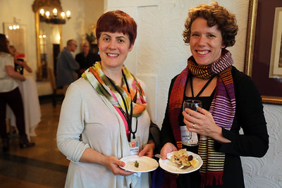 Heather Good (Wisconsin Union Theater) and Kate Hewson (Arts Institute)