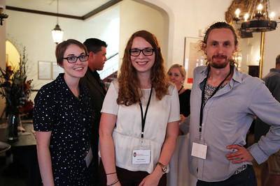 Emily Lewis, Kate Lochner and Aaron Granat (Arts Institute)