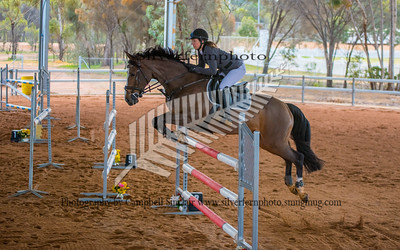 Class 5a and 5b Young Rider 125cm