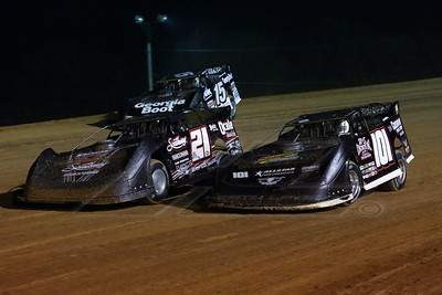 Casey Roberts (101), Ivedent Lloyd, Jr. (21) and Darrell Lanigan (15)