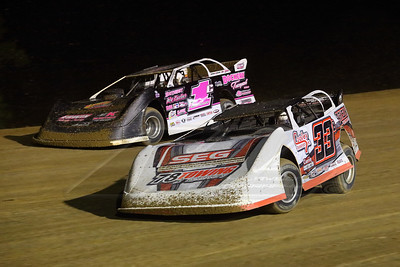 Eric Cooley (33) and Kenny Collins (1C)