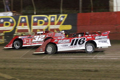 Bobby Pierce (32) and Randy Weaver (116)