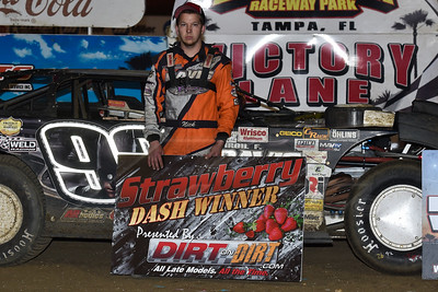 Strawberry Dash winner Nick Davis