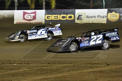 Gregg Satterlee (22) and Jonathan Davenport (6)