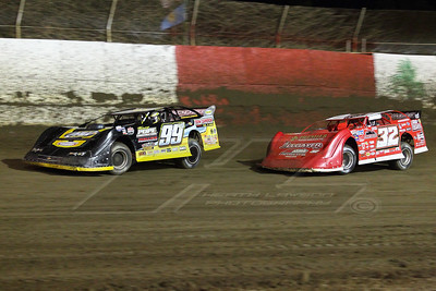Devin Moran (99M) and Bobby Pierce (32)