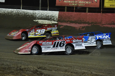 Randy Weaver (116), Don O'Neal (5), and Tim McCreadie (39)