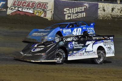 Jared Landers (777) and Kyle Bronson (40B)