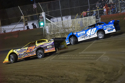 Billy Moyer, Jr. (21JR) and Kyle Bronson (40B)
