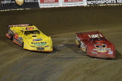 Tim McCreadie (39) and Billy Moyer, Jr. (21JR)