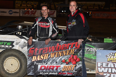 Strawberry Dash winner Freddie Carpenter