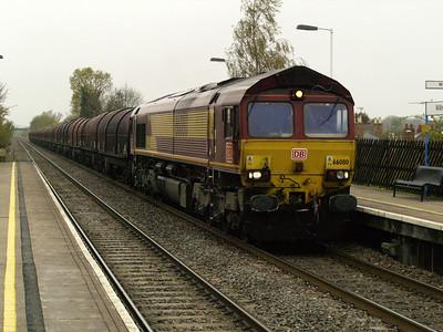 66080 1444_6E08 Wolves-Masborough passes Willington  28/04/16.