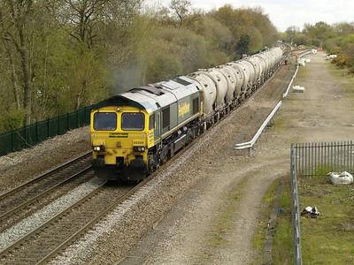 66606 1145_6G65 Hope-Walsall passes Stenson Junction 28/04/16.