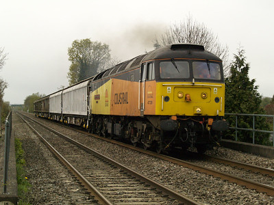 47739 1417_6s47 Eastleigh Works-Derby passes Willington   28/04/16.