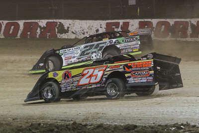 Shane Clanton (25) and Jason Feger (25 outside)