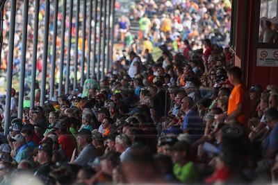 Eldora Speedway grandstands
