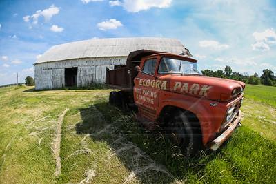 Eldora Speedway abandoned water truck