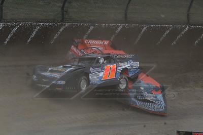 Rusty Schlenk (11) and Eddie Carrier, Jr.