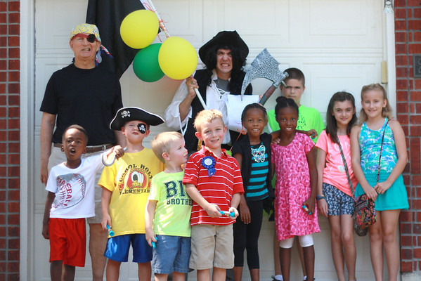 Elijah's 7th Birthday Pirate Party 2016