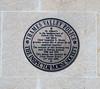 Inspector Morse plaque