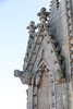 Carvings on the University Church tower