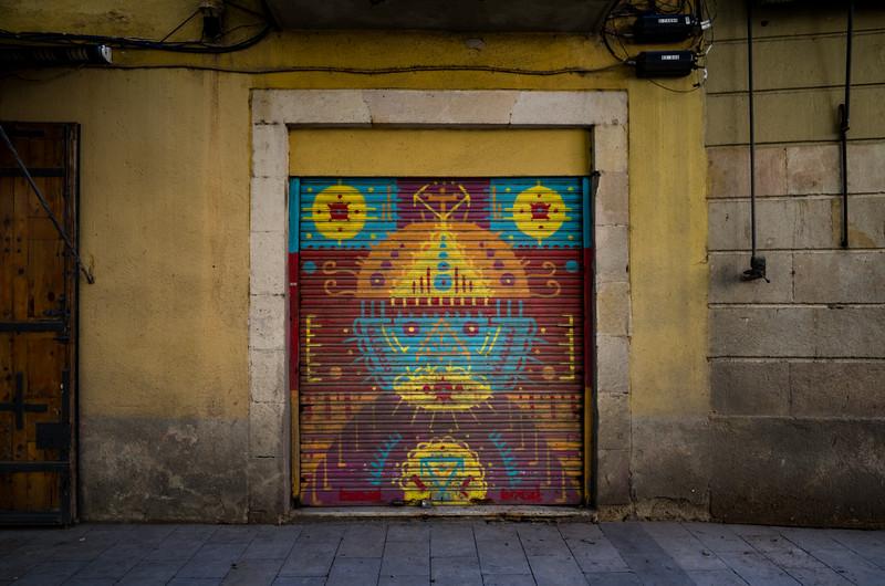 Arte urbano. Barcelona, Spain.