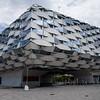 Originally built for Expo 2008, el Aragón Pavilion now sits abandoned. Zaragoza, Spain.