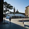 La Plaza del Pilar. Zaragoza, Spain.