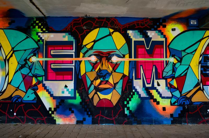 Arte urbano. Zaragoza, Spain.