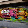 Arte urbano en Gràcia. Barcelona, Spain.