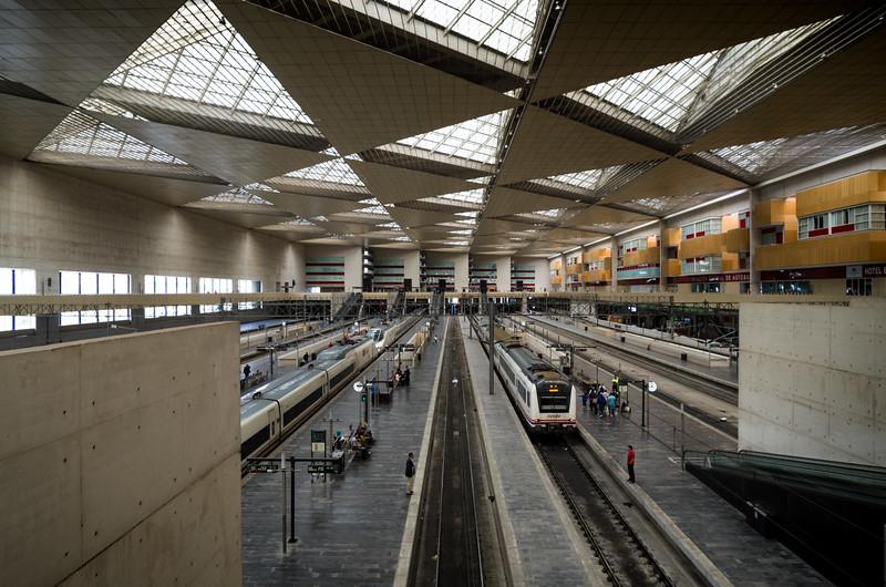 Zaragoza-Delicias rail station. Zaragoza, Spain.