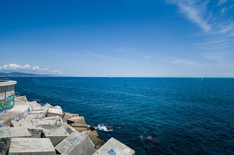 The Balearic Sea. Barcelona, Spain.