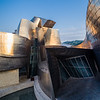 Museo Guggenheim at sunrise. Bilbao, Spain.