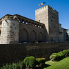 Originally built by the Moors in the 11th century, la Aljafería is now home to the regional parliament of Aragón. Zaragoza, Spain.