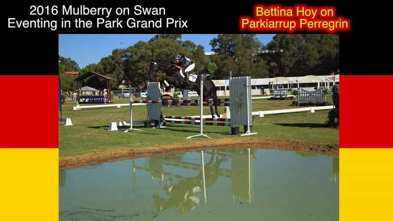 2016 Eventing in the Park G13 Bettina Hoy on Parkiarrup Perregrin in the Grand Prix Class
