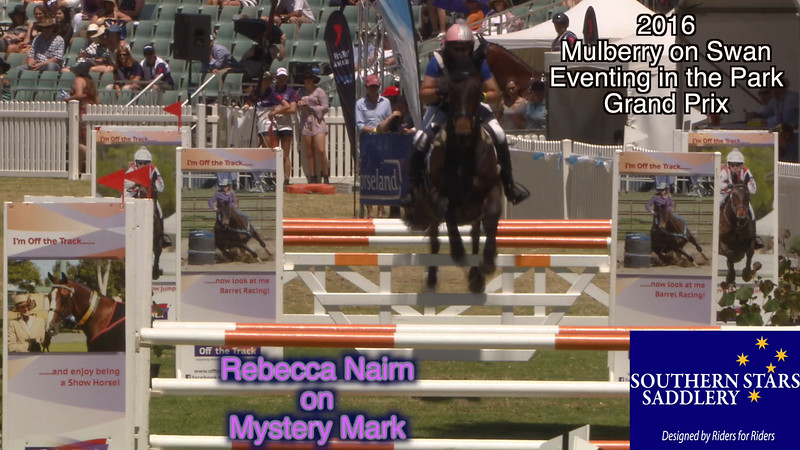 2016 Eventing in the Park D46 Rebecca Nairn on Mystery Mark in the Diamond Class